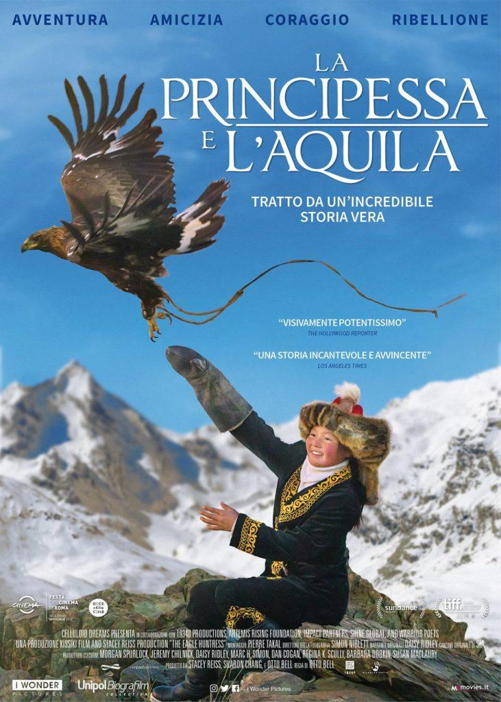 """Poster for the movie """"La principessa e l'aquila"""""""