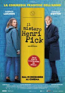 """Poster for the movie """"Il mistero Henri Pick"""""""