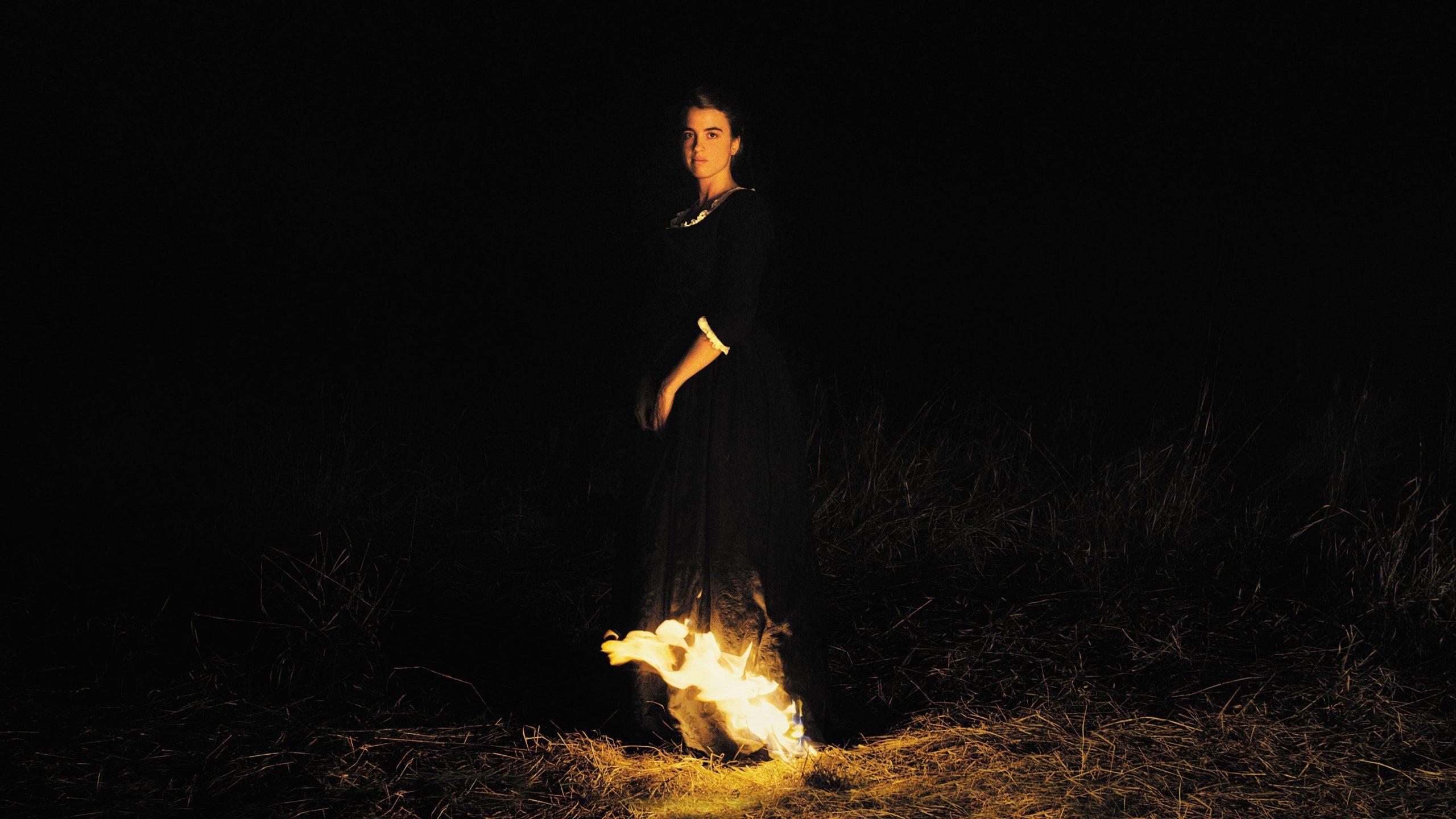 """Image from the movie """"Ritratto della giovane in fiamme"""""""