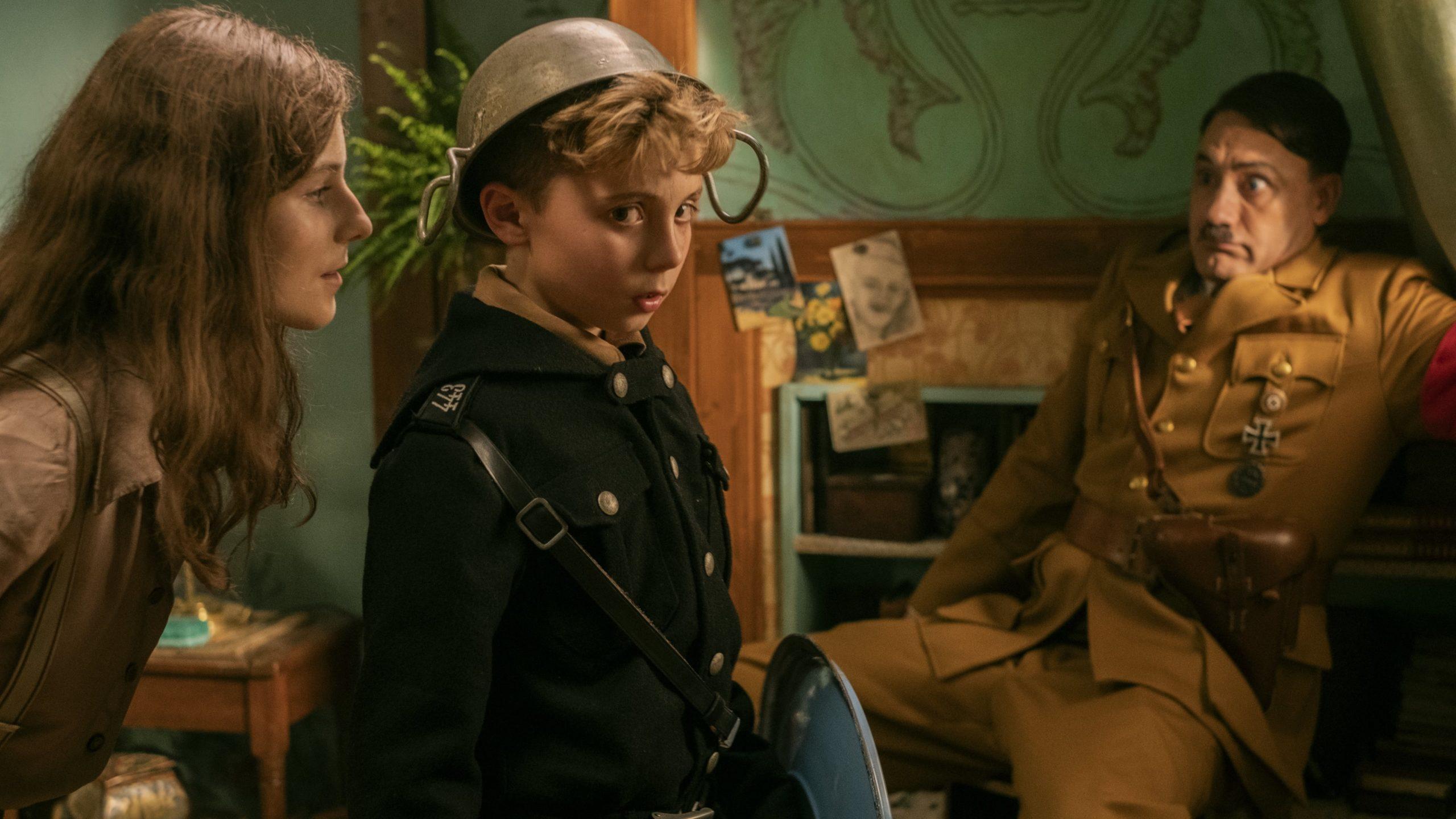 "Image from the movie ""Jojo Rabbit"""