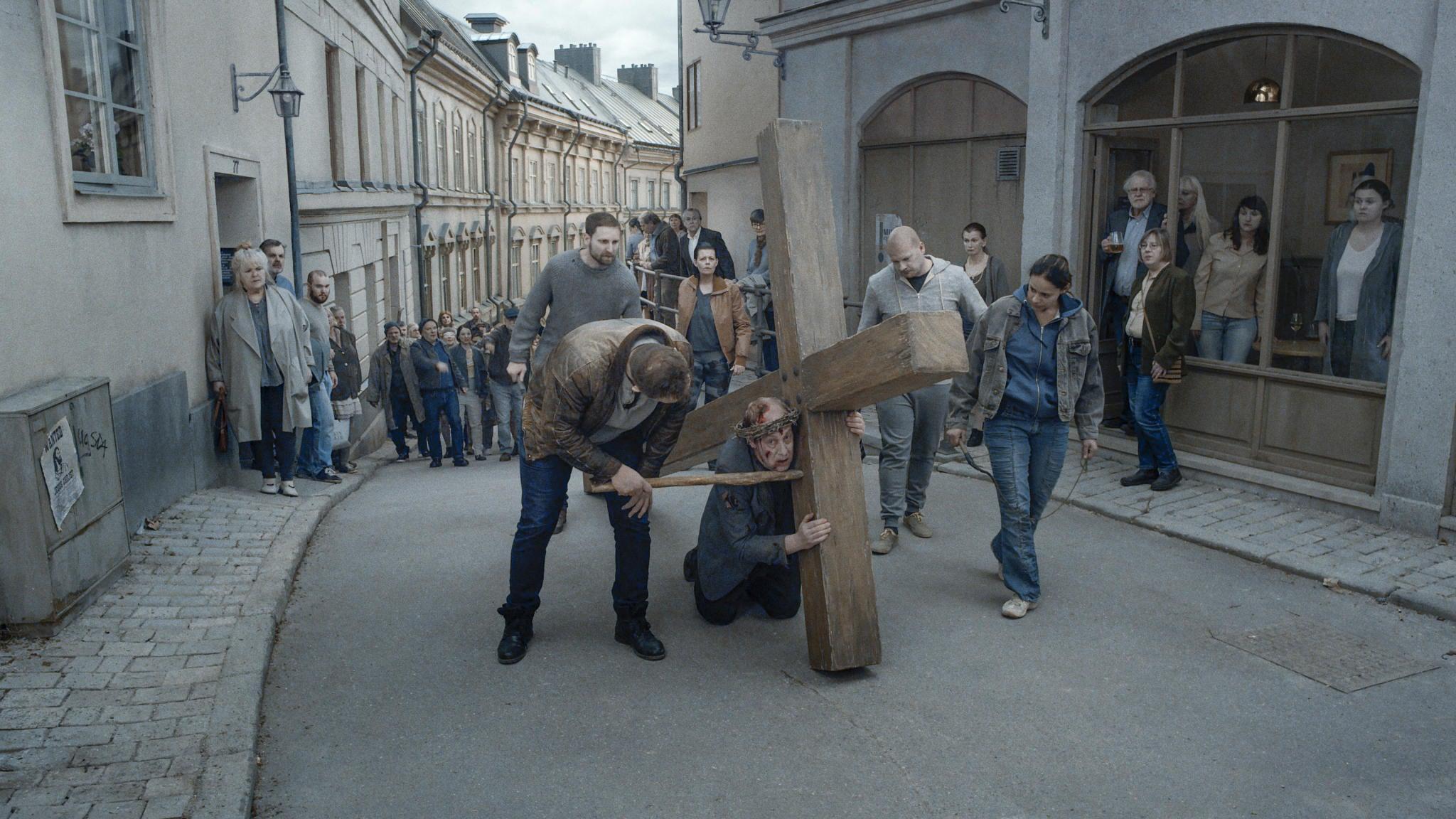 """Image from the movie """"Sulla infinitezza"""""""