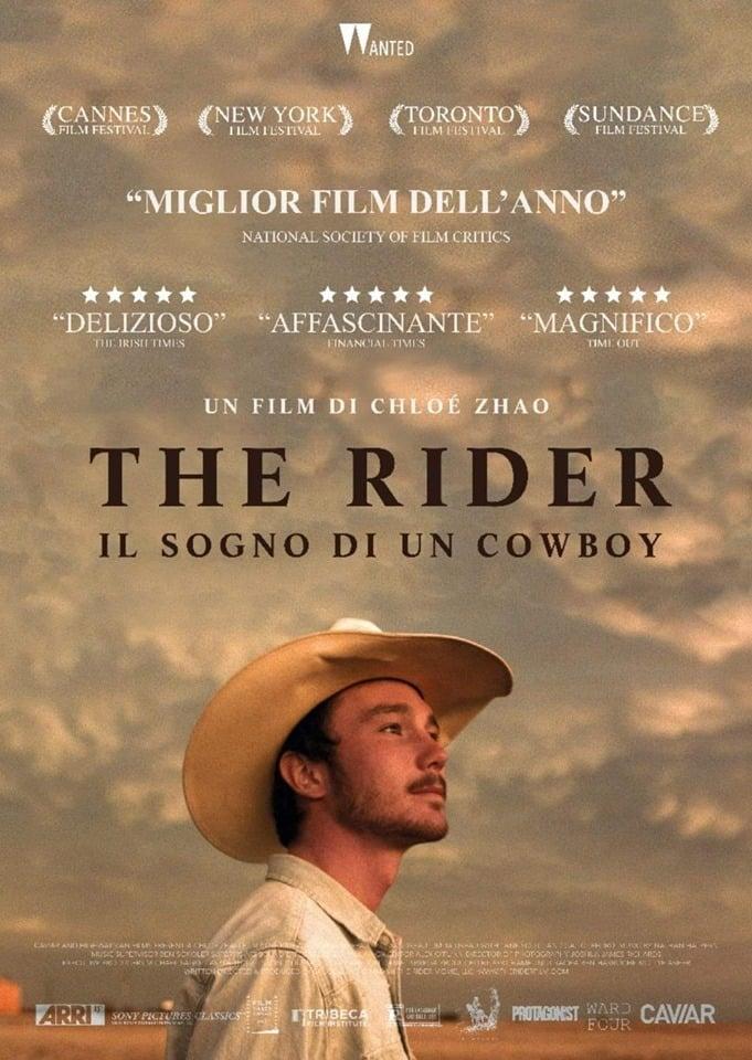 """Poster for the movie """"The Rider - Il sogno di un cowboy"""""""