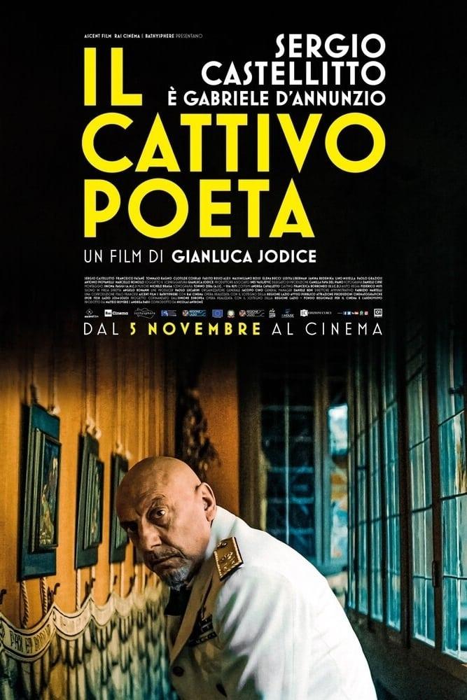 """Poster for the movie """"Il cattivo poeta"""""""