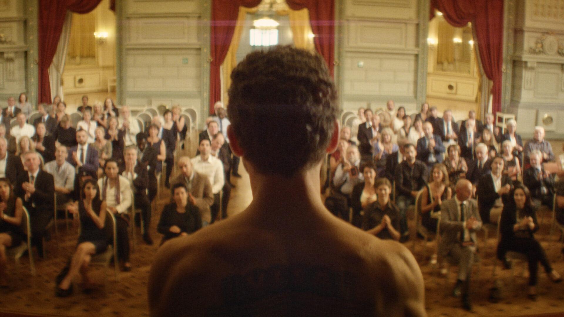 """Image from the movie """"L'uomo che vendette la sua pelle"""""""