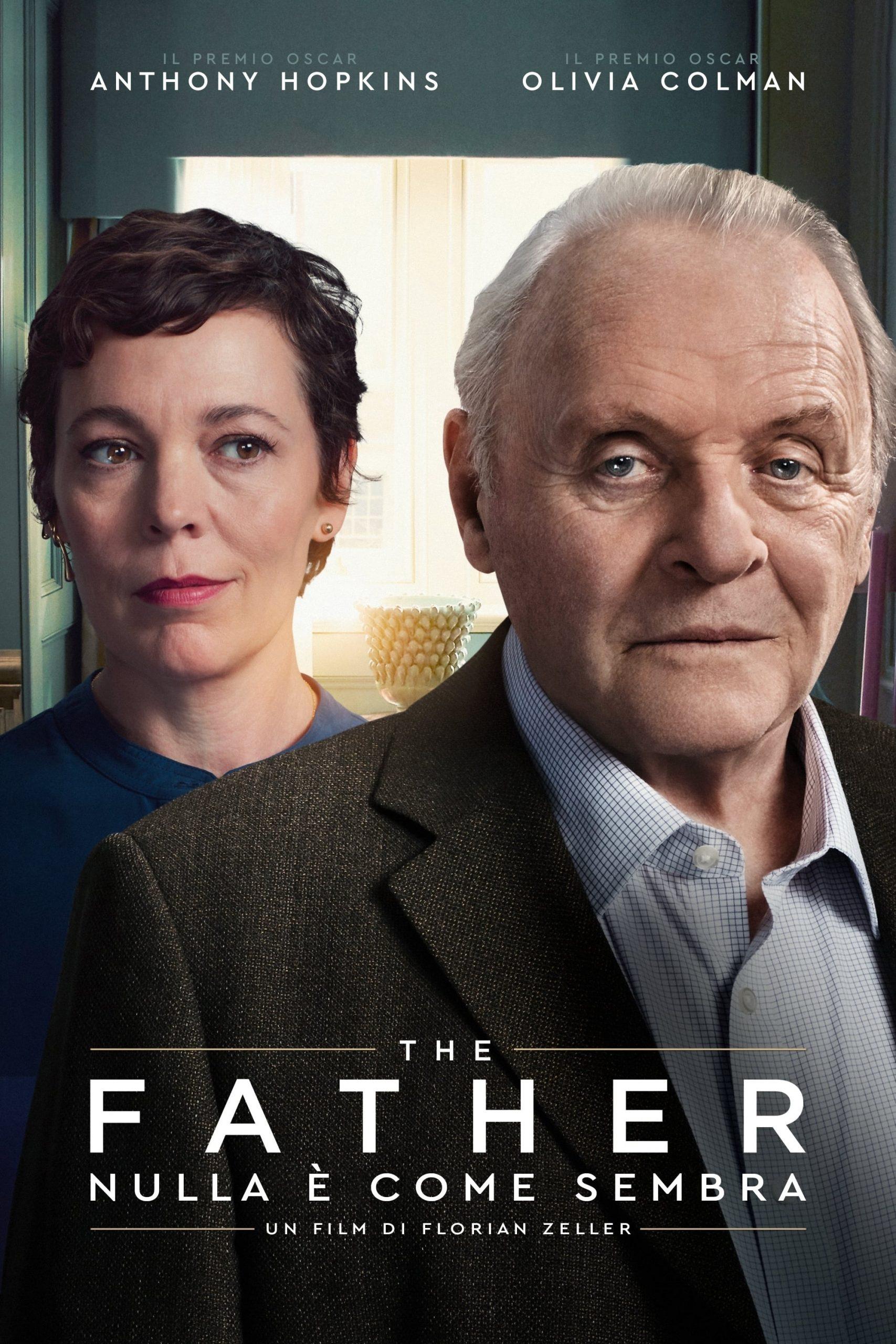 """Poster for the movie """"The Father - Nulla è come sembra"""""""
