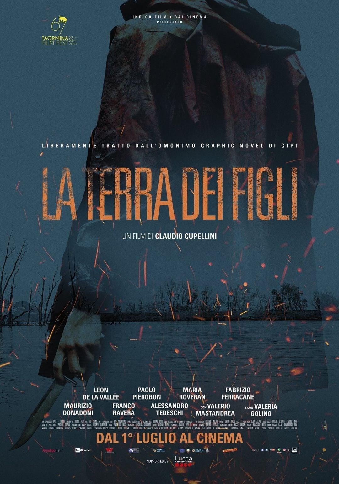 """Poster for the movie """"La terra dei figli"""""""